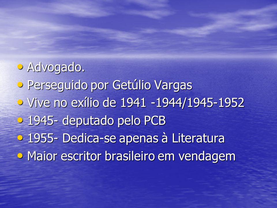 Advogado. Advogado. Perseguido por Getúlio Vargas Perseguido por Getúlio Vargas Vive no exílio de 1941 -1944/1945-1952 Vive no exílio de 1941 -1944/19