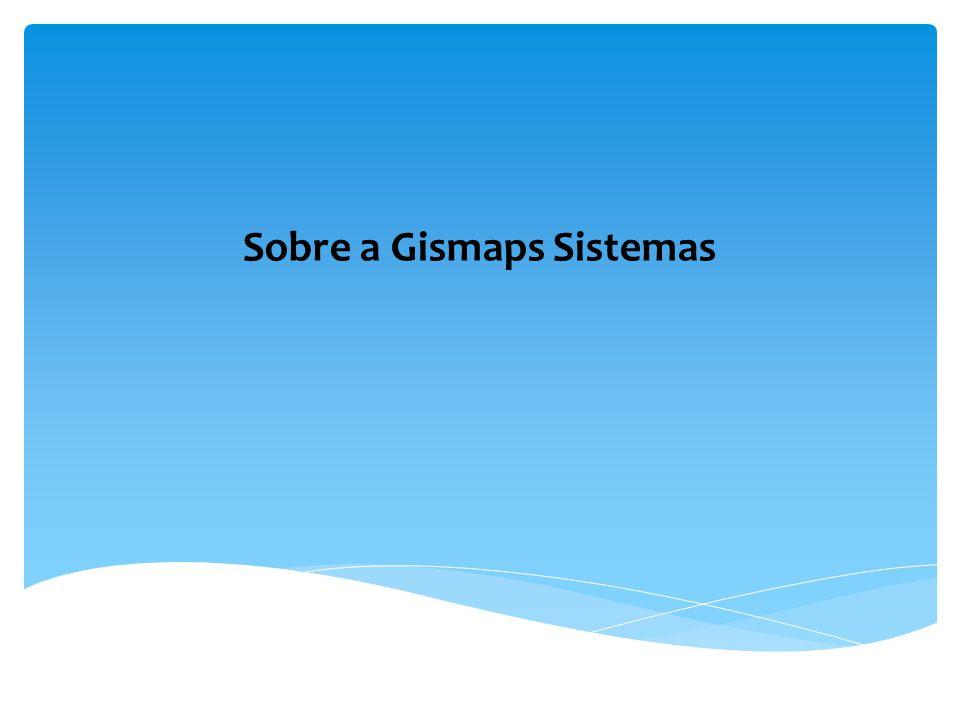 11 anos de atividades; Mais de 1.000 clientes atendidos; Venda de softwares, dados e sistemas (http://loja.gismaps.com.br); Produção de mapas impressos e digitais; Projeto e desenvolvimento de sistema; Organização de banco de dados; Treinamento.