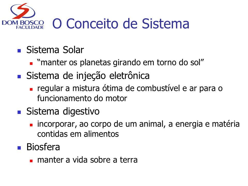 """Sistema Solar """"manter os planetas girando em torno do sol"""" Sistema de injeção eletrônica regular a mistura ótima de combustível e ar para o funcioname"""
