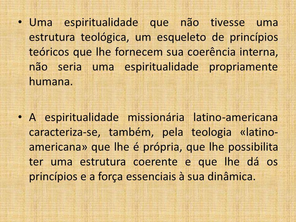 Uma espiritualidade que não tivesse uma estrutura teológica, um esqueleto de princípios teóricos que lhe fornecem sua coerência interna, não seria uma