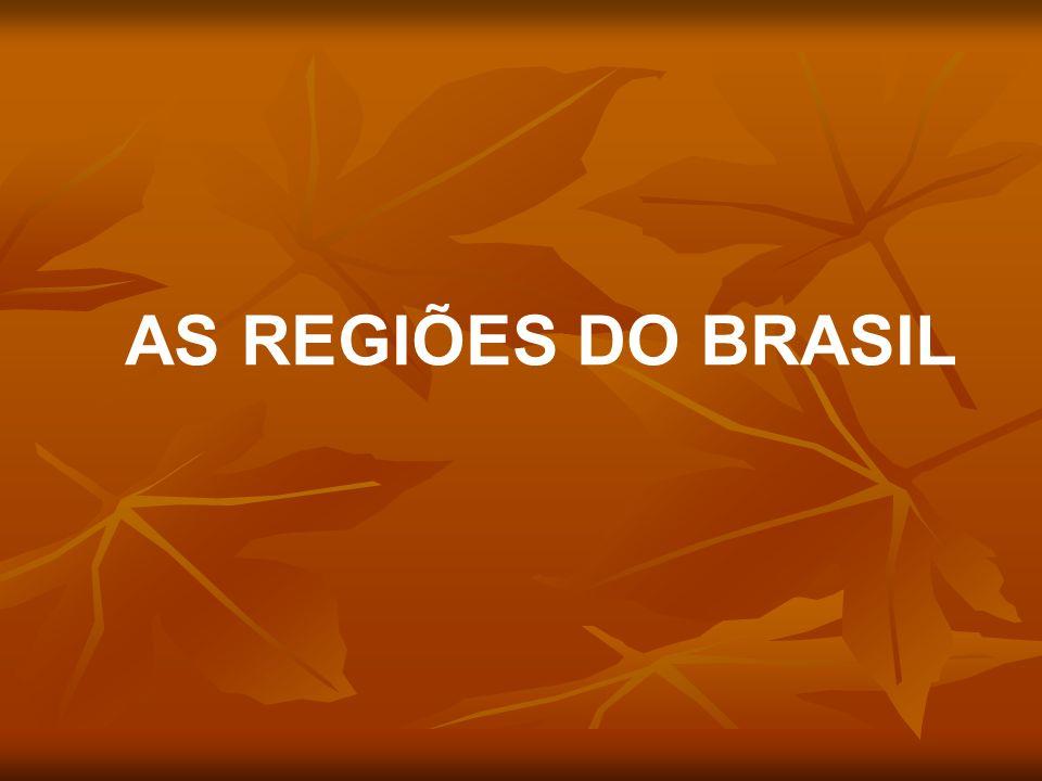 As Regiões do Brasil são uma divisão que tem caráter legal e que foi proposta pelo Instituto Brasileiro de Geografia e Estatística (IBGE) em 1969.
