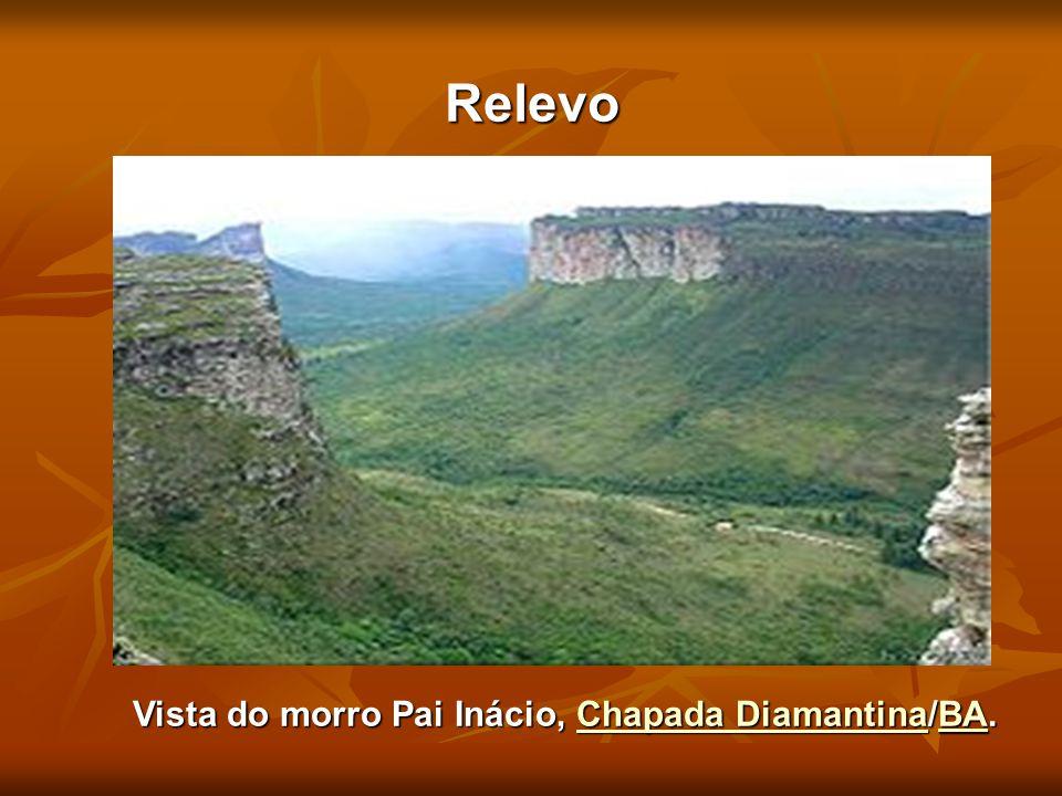 Relevo Vista do morro Pai Inácio, Chapada Diamantina/BA. Chapada DiamantinaBAChapada DiamantinaBA