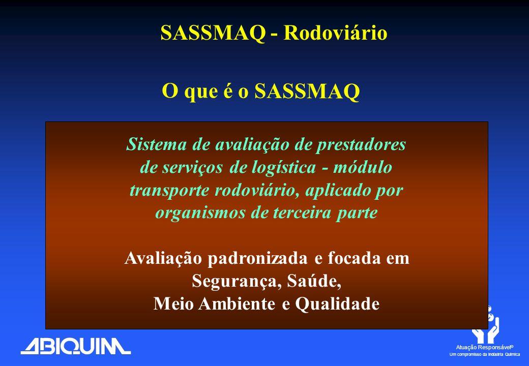 Atuação Responsável ® Um compromisso da Indústria Química SASSMAQ – Terminais MarítimosCHILE METHANEXPunta Arenas12/2005 OXIQUIMEscuadrón Quintero 06/2006
