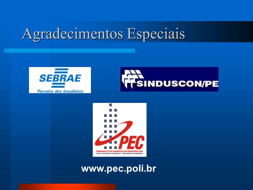 Agradecimentos Especiais www.pec.poli.br