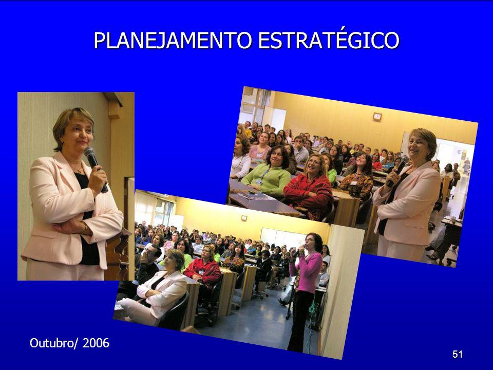 51 PLANEJAMENTO ESTRATÉGICO Outubro/ 2006