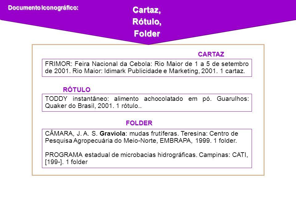 Cartaz,Rótulo,Folder Documento Iconográfico: CÂMARA, J. A. S. Graviola: mudas frutíferas. Teresina: Centro de Pesquisa Agropecuária do Meio-Norte, EMB