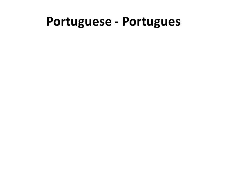 Portuguese - Portugues