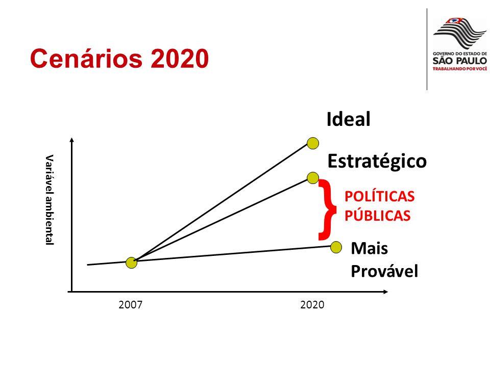 Cenários Ambientais 2020: Por que fazer.