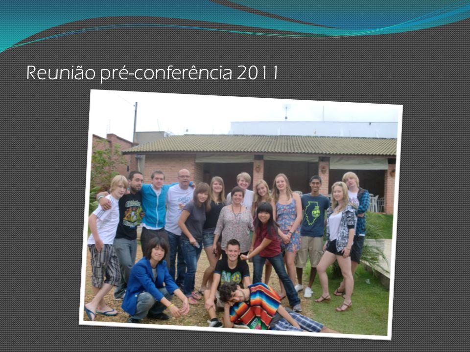 Reunião pré-conferência 2011