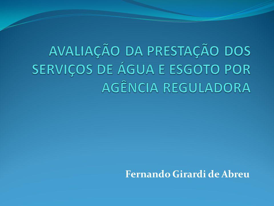 Recomendação aos serviços de água e esgoto dos municípios associados