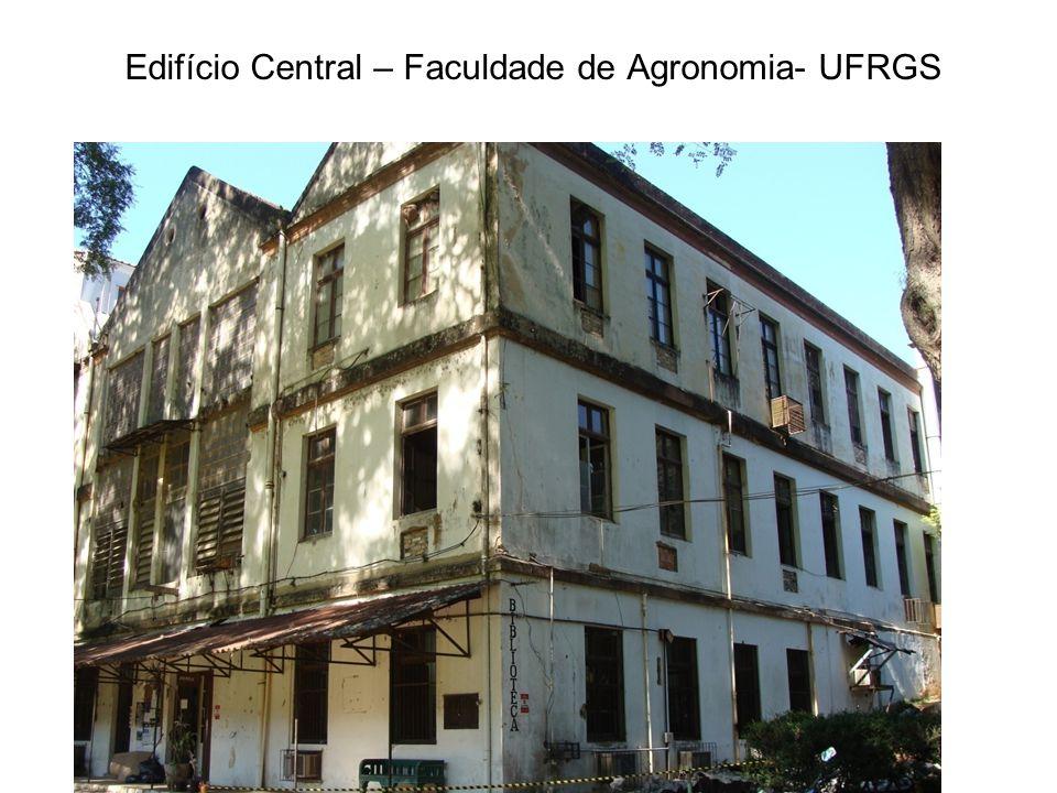 Edifício Central – Faculdade de Agronomia- UFRGS