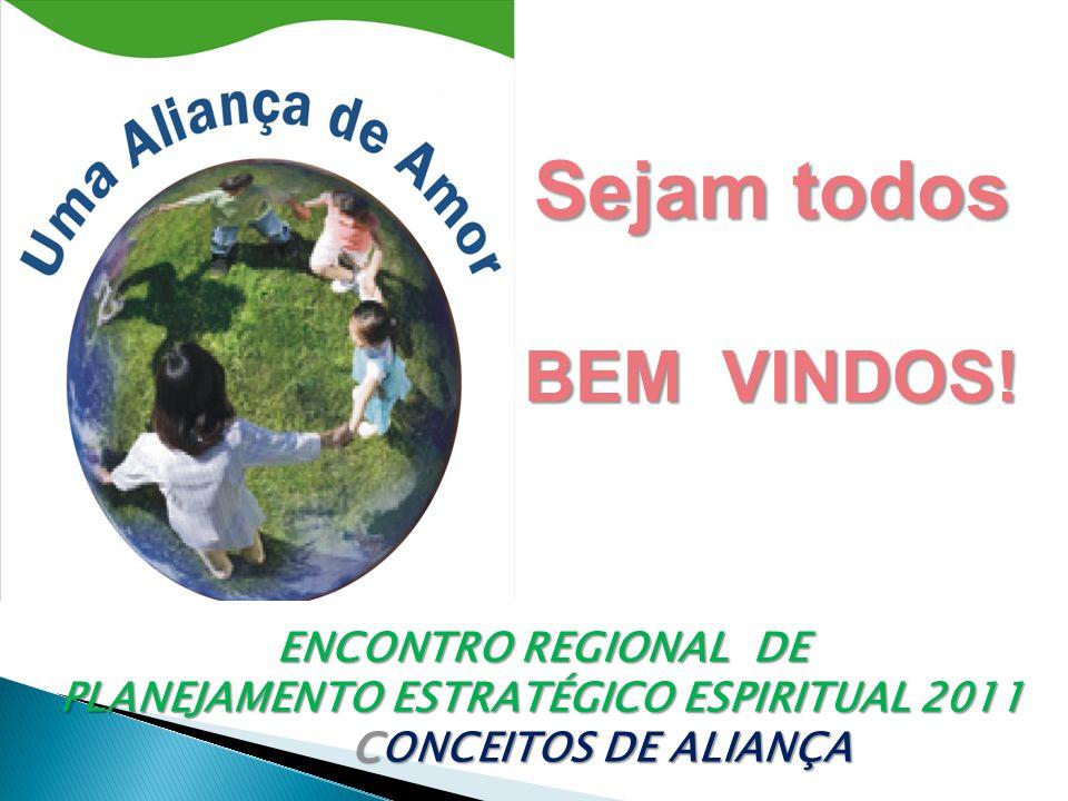 ENCONTRO REGIONAL DE PLANEJAMENTO ESTRATÉGICO ESPIRITUAL 2011 CONCEITOS DE ALIANÇA CONCEITOS DE ALIANÇA Sejam todos BEM VINDOS!