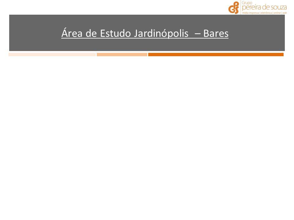Área de Estudo Jardinópolis – Bares