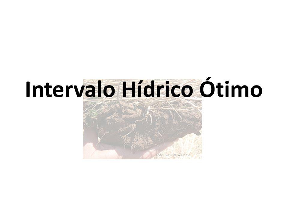 Foto: Revista A Ganja Intervalo Hídrico Ótimo