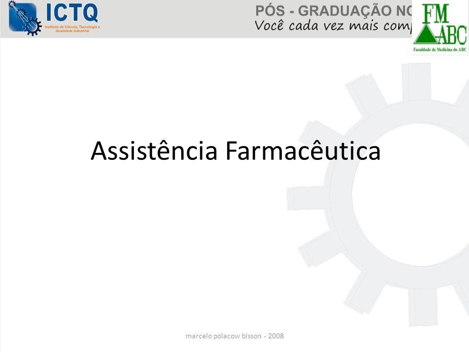 marcelo polacow bisson - 2008 Assistência Farmacêutica