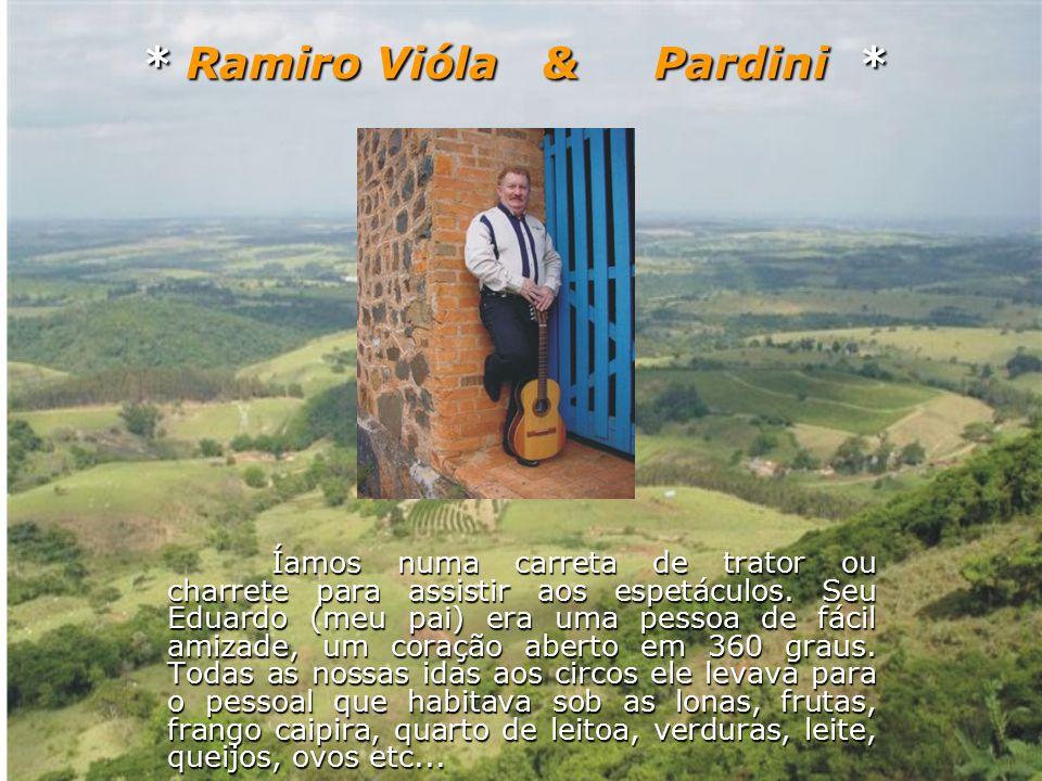 Ramiro Vióla & Pardini seguem juntos irmanados num só objetivo, que é levar alegria através da Música Raiz aos quatro cantos deste Brasil querido.