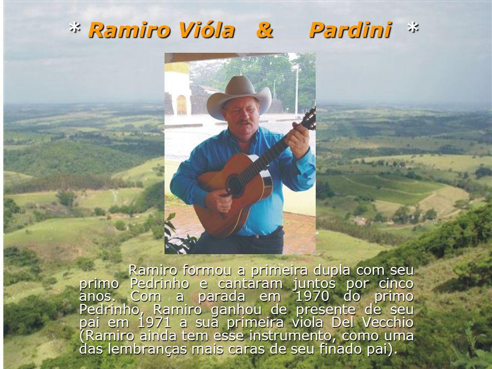 Seguiu sozinho empunhando sua viola, cantou a música João de Barro ao público, no microfone da Rádio Emissora de Botucatu PRF8 no programa Reino da Gurizada , OBS: este programa foi apresentado por um longo período pelo Rivaldo Corulli, grande Diretor do Programa Viola Minha Viola da TV Cultura, apresentado por Inezita Barroso.