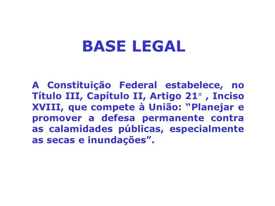 """A Constituição Federal estabelece, no Título III, Capítulo II, Artigo 21, Inciso XVIII, que compete à União: """"Planejar e promover a defesa permanente"""