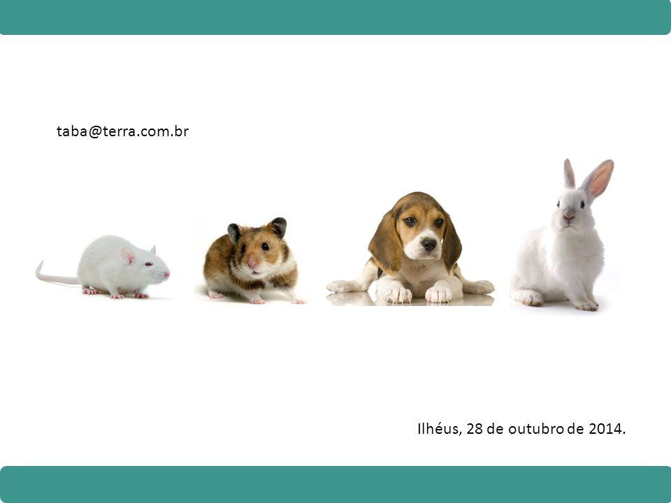 taba@terra.com.br Ilhéus, 28 de outubro de 2014.