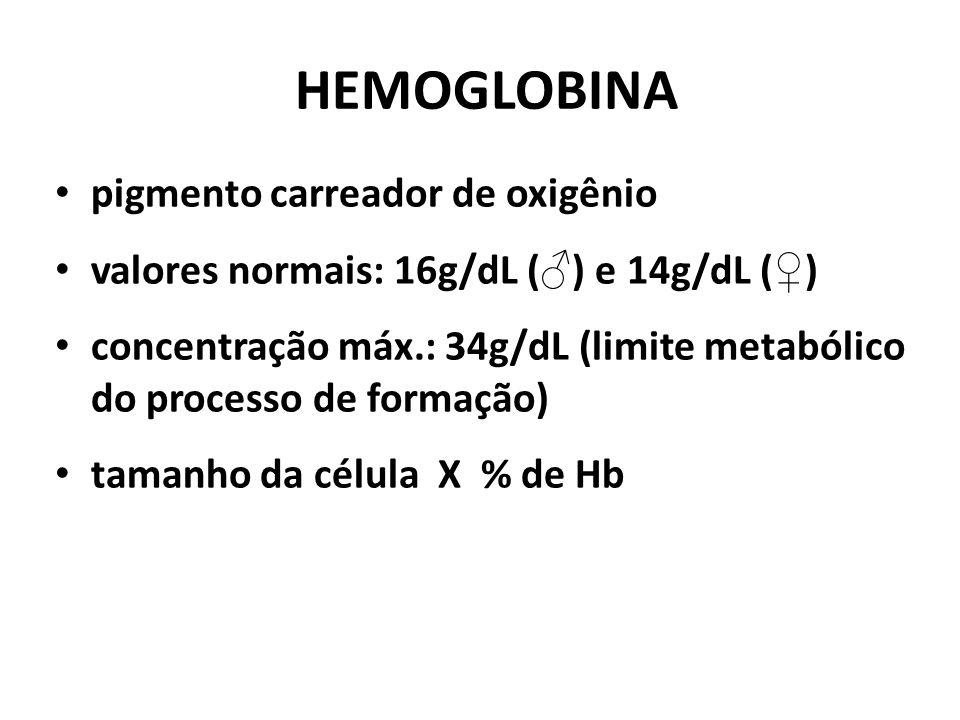 HEMOGLOBINAS 4.1. Conceito e Função Conceito