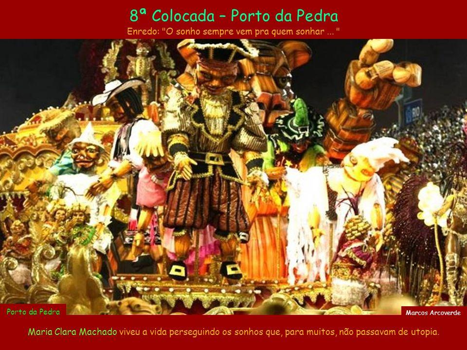 A Portela homenageou os 100 anos do Porto do Rio, historicamente a porta de entrada marítima do Brasil.