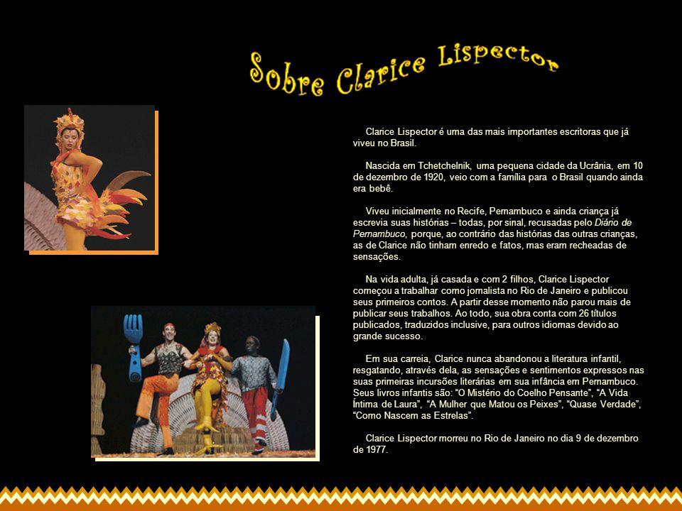 Clarice Lispector é uma das mais importantes escritoras que já viveu no Brasil. Nascida em Tchetchelnik, uma pequena cidade da Ucrânia, em 10 de dezem