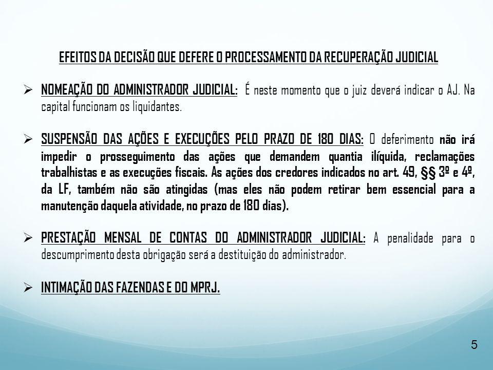  COMUNICAÇÃO AO REGISTRO PÚBLICO PARA ACRESCENTAR A EXPRESSÃO EM RECUPERAÇÃO JUDICIAL).