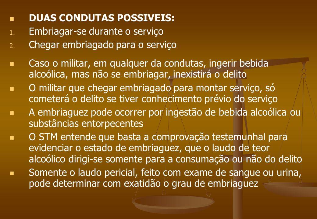 DORMIR EM SERVIÇO Art.203.
