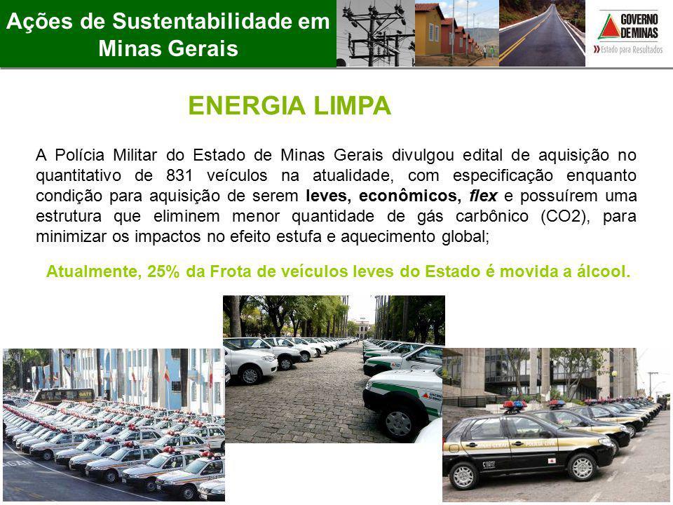 A Polícia Militar do Estado de Minas Gerais divulgou edital de aquisição no quantitativo de 831 veículos na atualidade, com especificação enquanto con