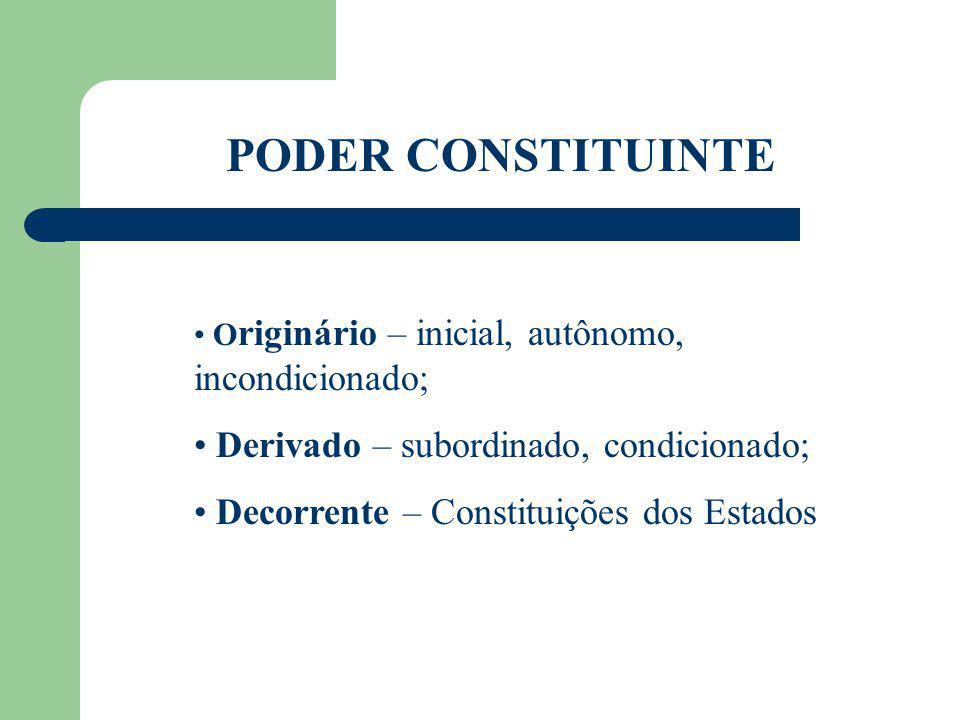 CONSTITUIÇÃO Orienta todos os ramos do Direito; Escrita ou costumeira; Rígidas ou flexíveis; Promulgadas ou outorgadas; Consolidadas ou esparsas; Sintéticas ou analíticas