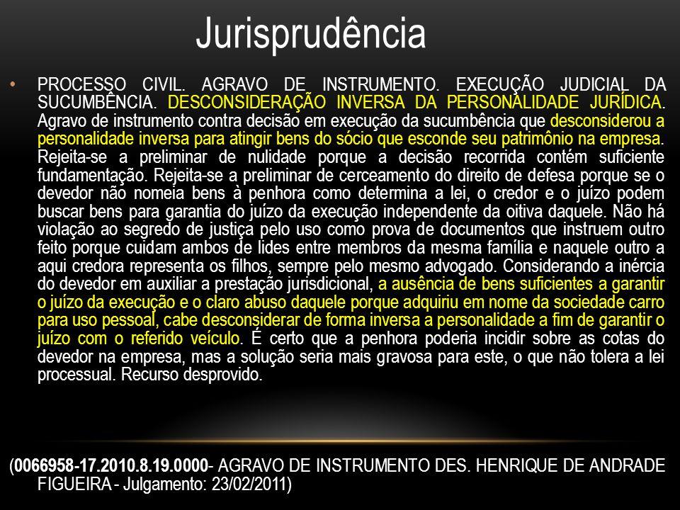 Jurisprudência PROCESSO CIVIL.AGRAVO DE INSTRUMENTO.