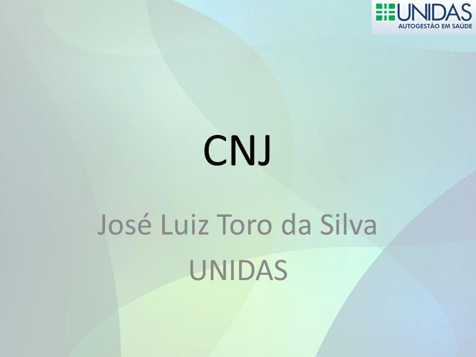 CNJ José Luiz Toro da Silva UNIDAS