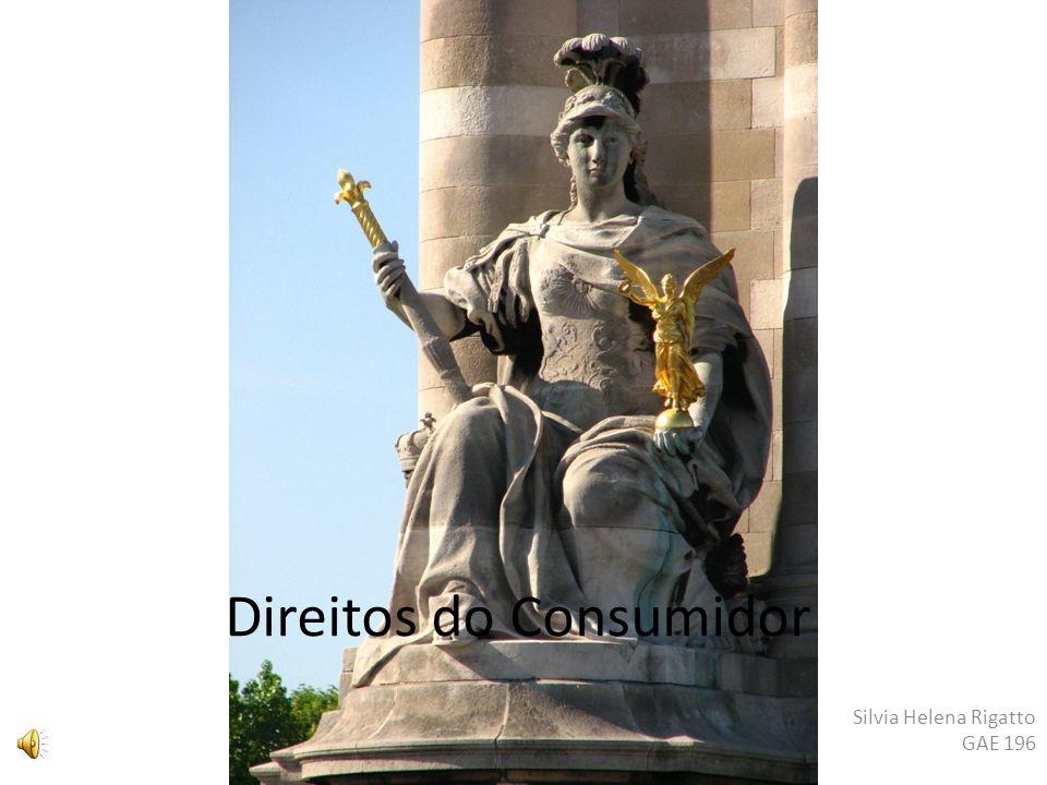 Direitos do Consumidor Silvia Helena Rigatto GAE 196
