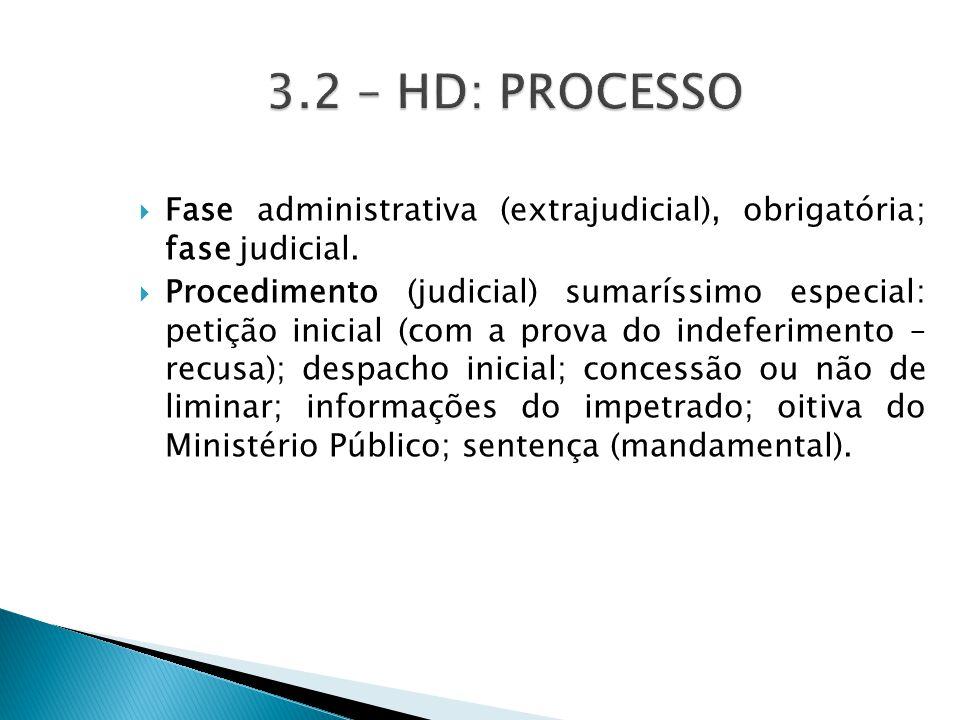  Fase administrativa (extrajudicial), obrigatória; fase judicial.