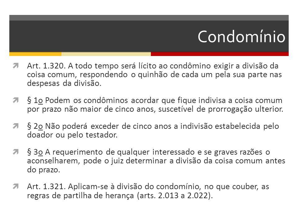 Condomínio  Art.1.320.