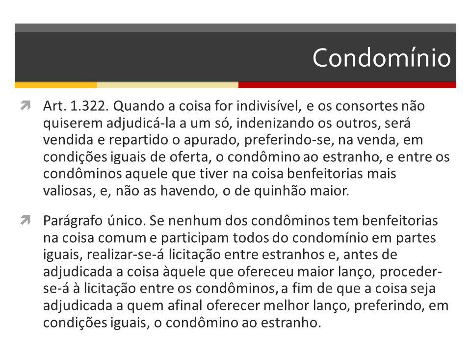 Condomínio  Art.1.322.