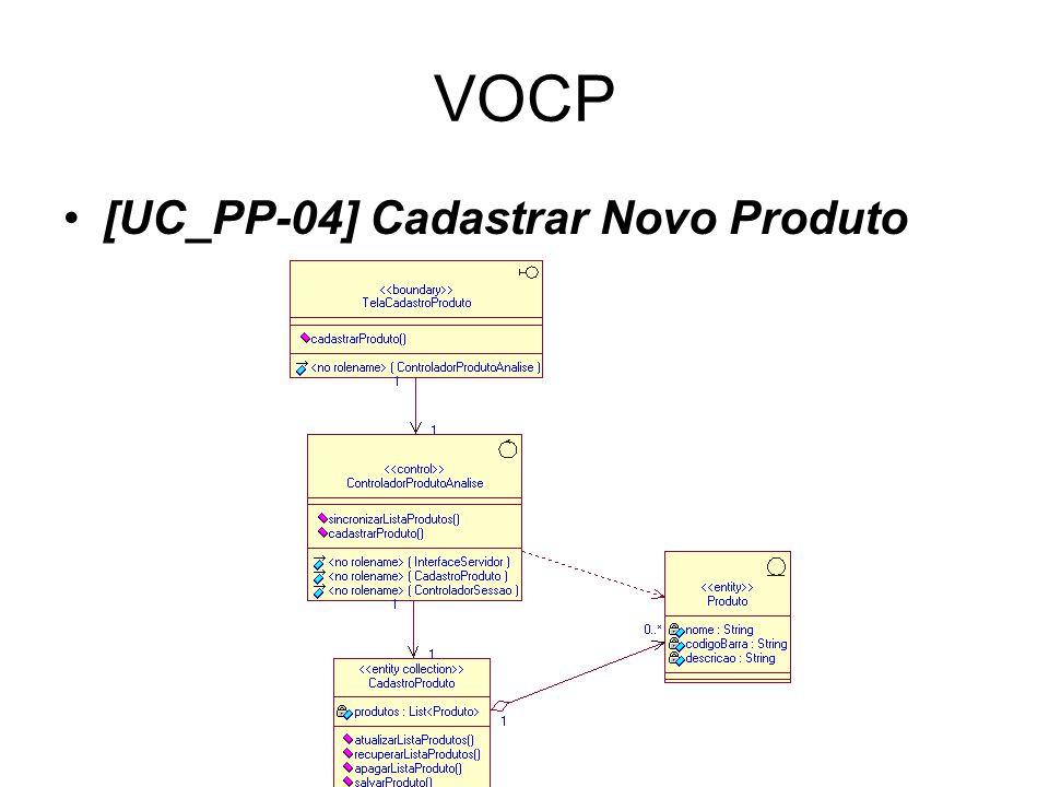 VOCP [UC_PP-04] Cadastrar Novo Produto