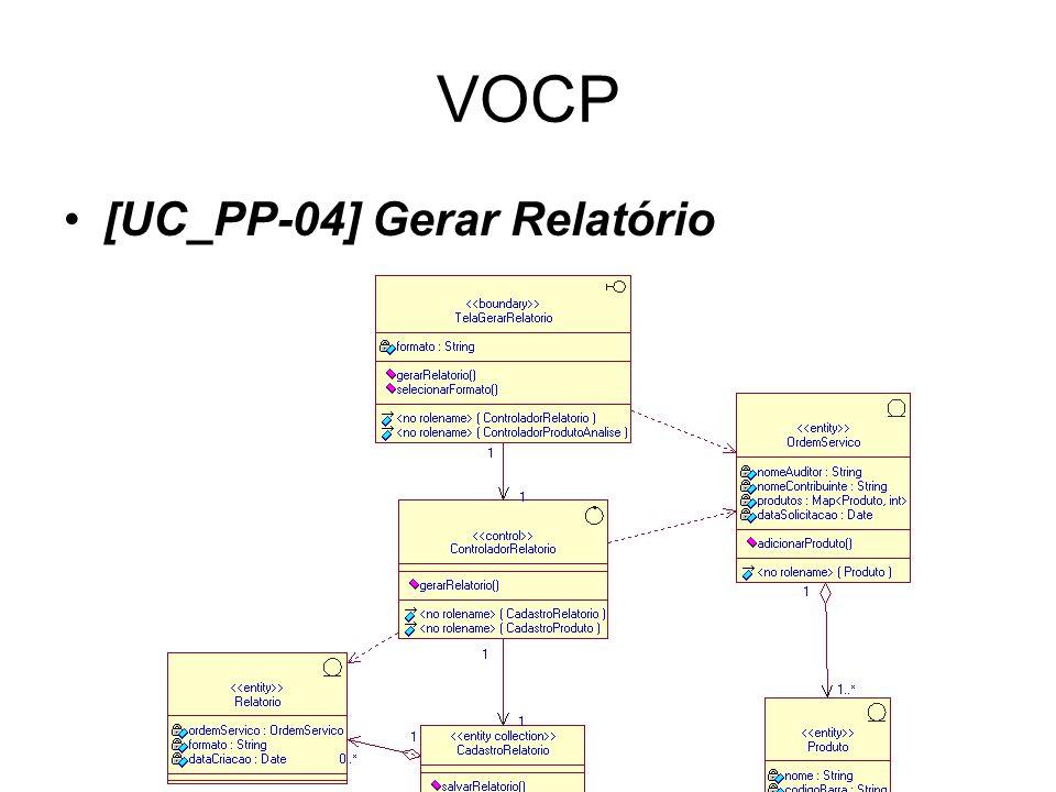 VOCP [UC_PP-04] Gerar Relatório