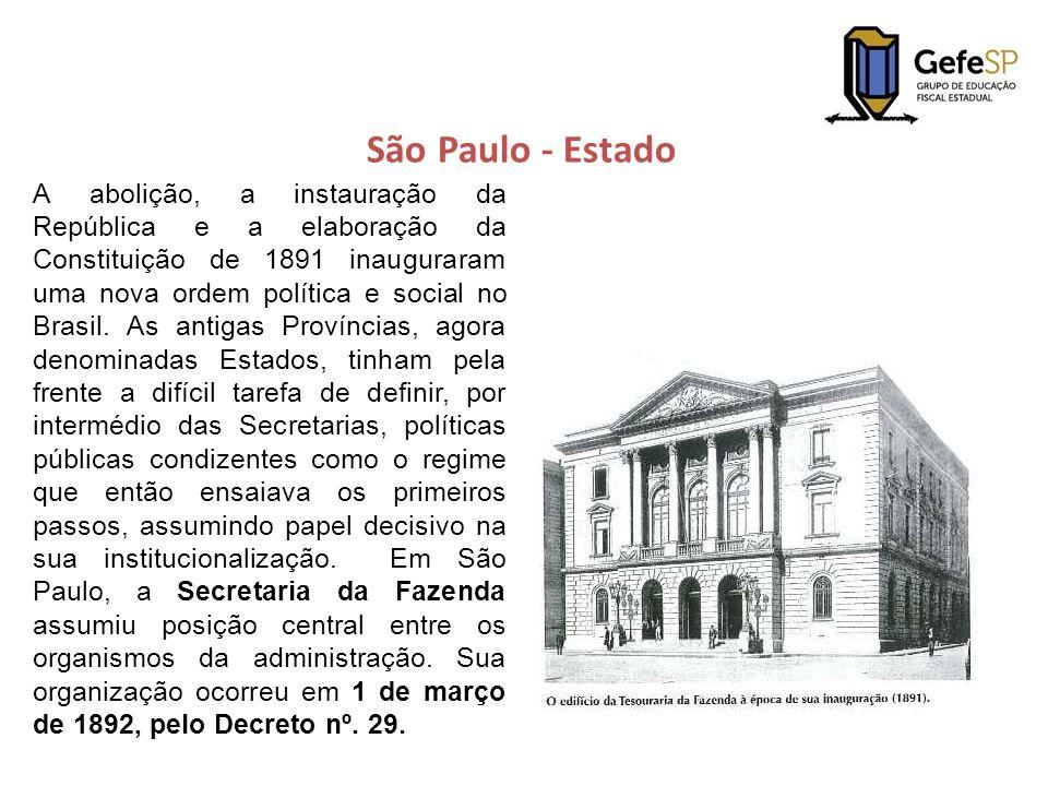 São Paulo - Estado A abolição, a instauração da República e a elaboração da Constituição de 1891 inauguraram uma nova ordem política e social no Brasi