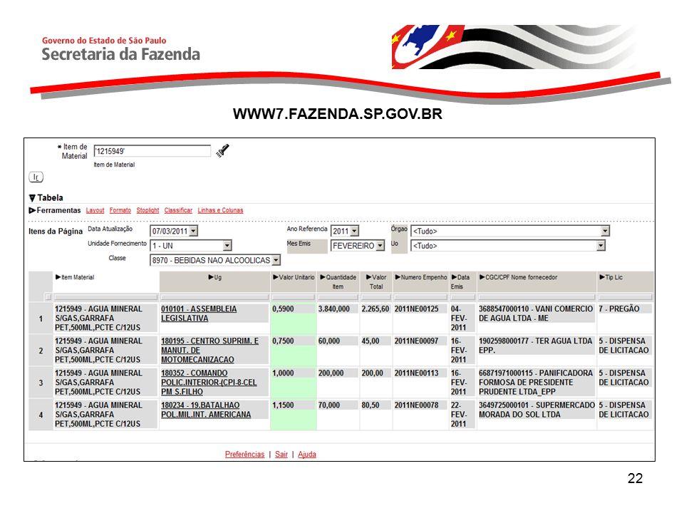 22 WWW7.FAZENDA.SP.GOV.BR