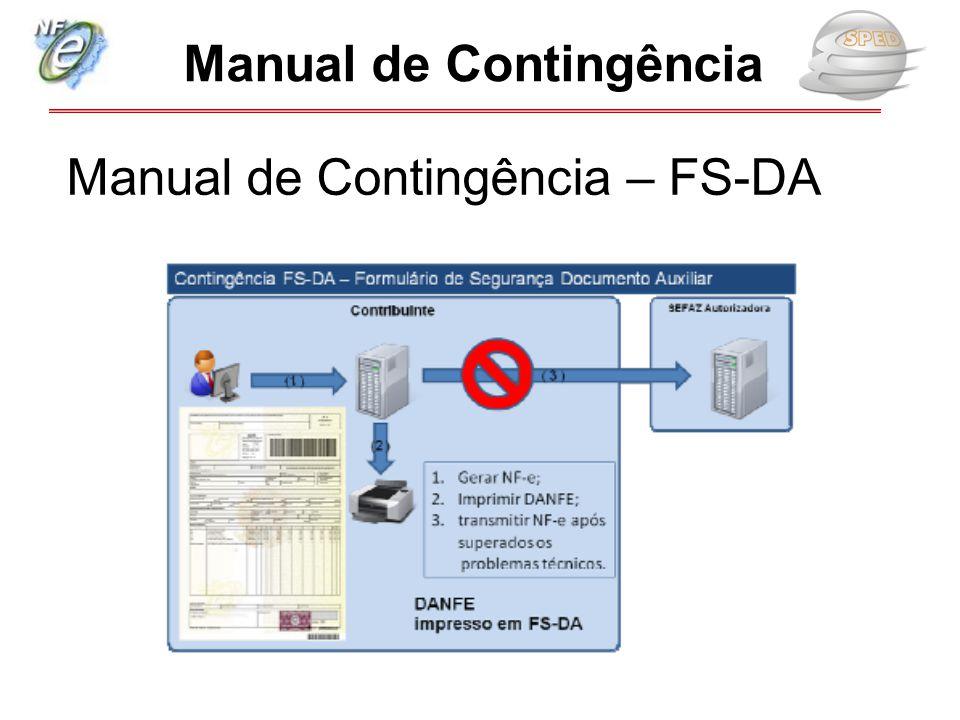 Manual de Contingência – FS-DA Manual de Contingência