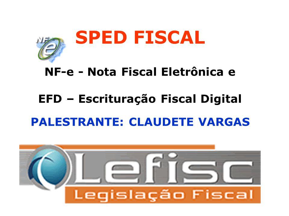 EFD – Escrituração Fiscal Digital Regra Geral EFD - Escrituração Fiscal Digital, é um arquivo digital, da Escrituração dos Documentos Fiscais, bem como de registros de apuração de impostos (ICMS/IPI) referentes às operações e prestações praticadas pelo contribuinte.