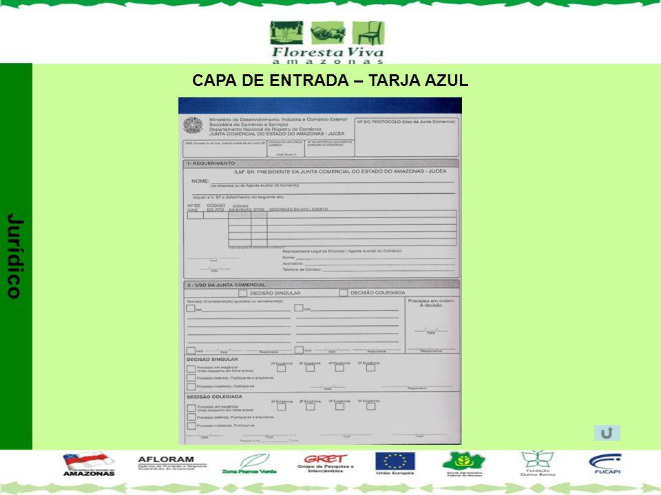 CAPA DE ENTRADA – TARJA AZUL Jurídico