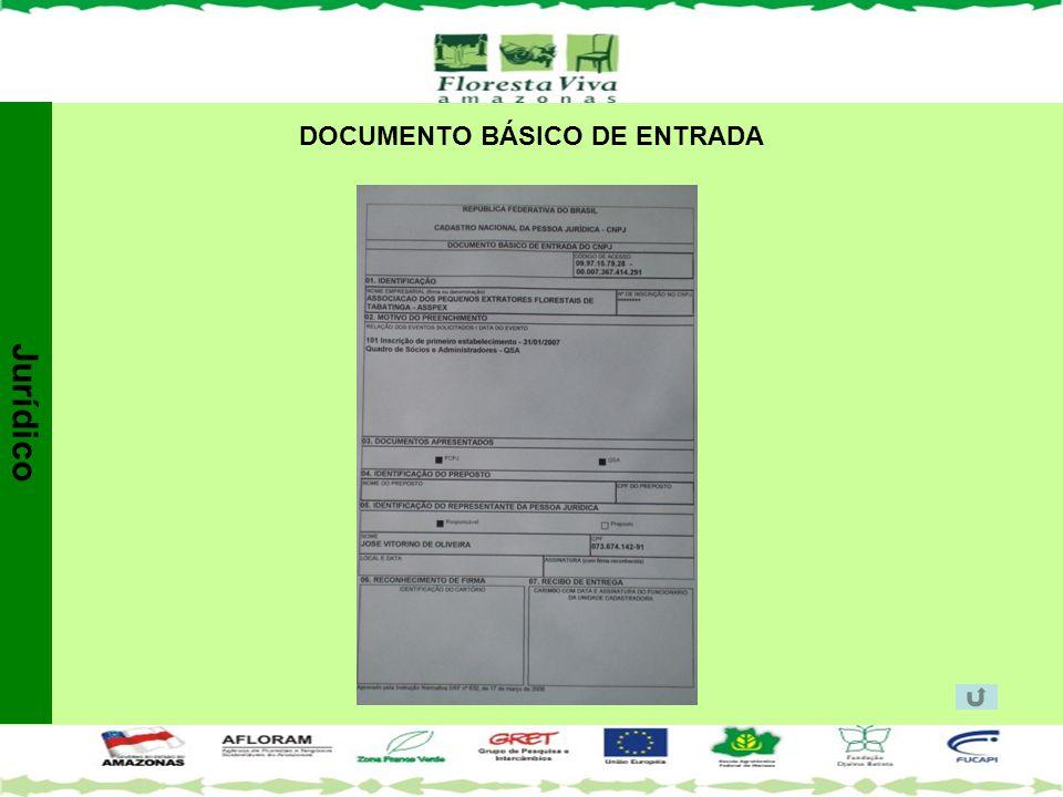 DOCUMENTO BÁSICO DE ENTRADA Jurídico