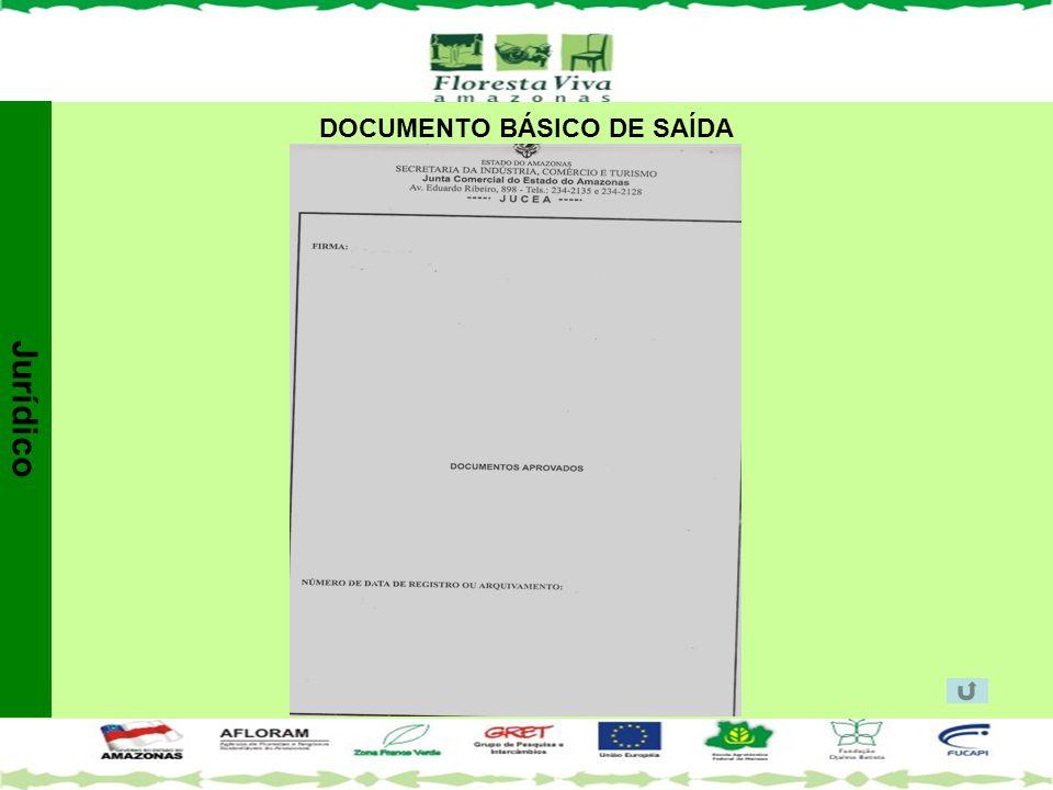 DOCUMENTO BÁSICO DE SAÍDA Jurídico