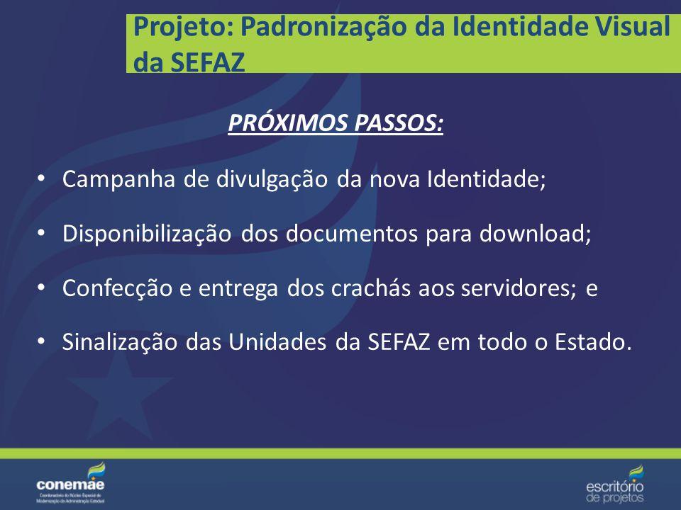 Sinalização das Agenfas e Prédios da SEFAZ: