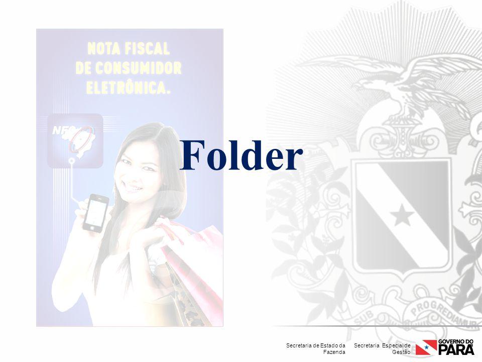 Secretaria Especial de Gestão Secretaria de Estado da Fazenda Folder