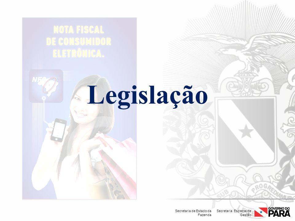 Secretaria Especial de Gestão Secretaria de Estado da Fazenda Legislação