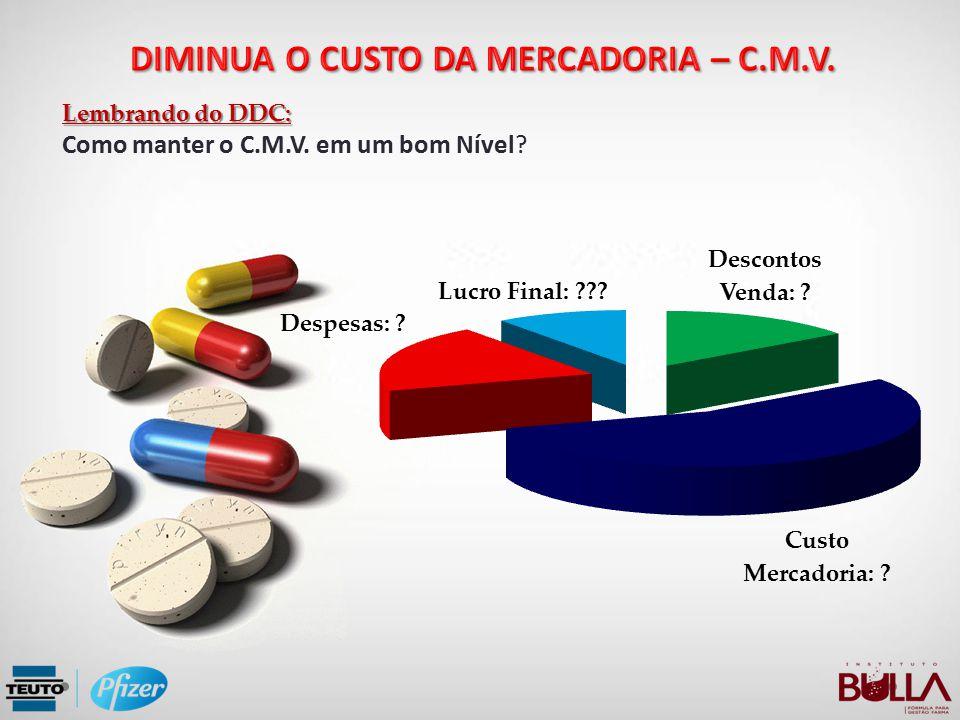 Lembrando do DDC: Como manter o C.M.V. em um bom Nível?