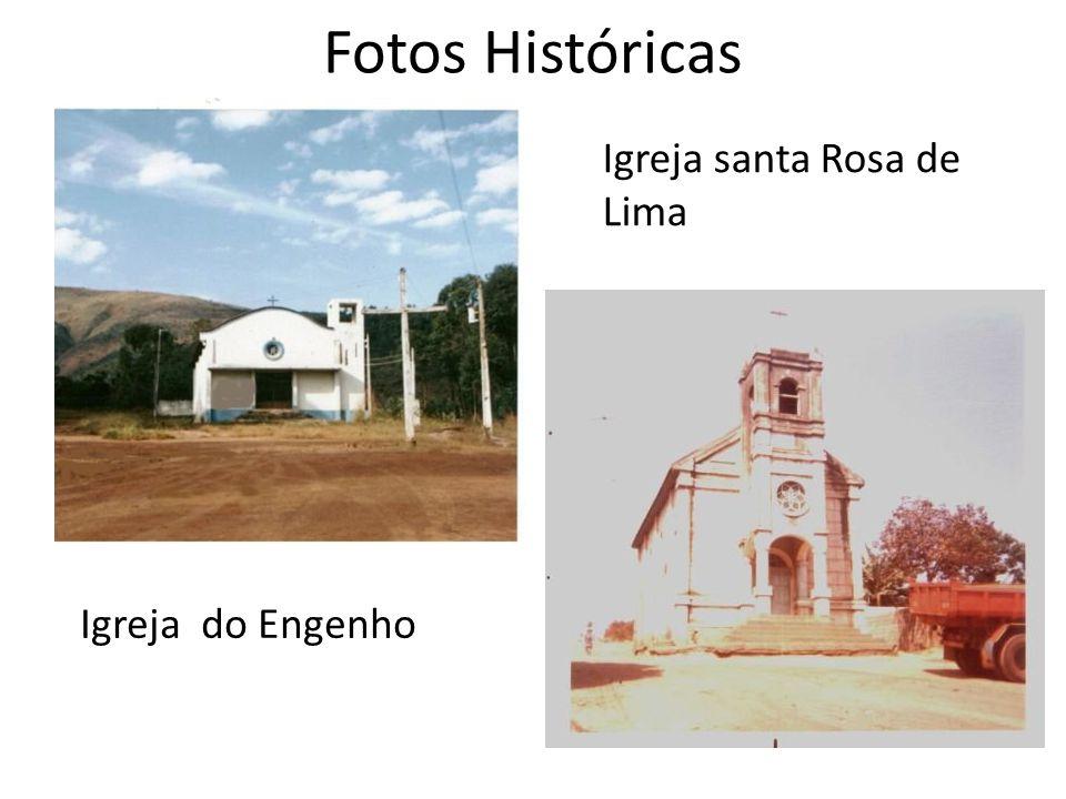 Fotos Históricas Igreja do Engenho Igreja santa Rosa de Lima